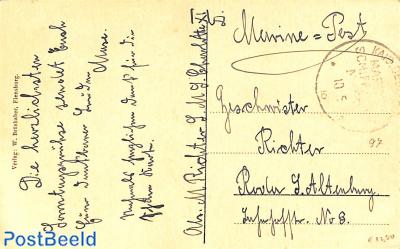 Deutsche Schiffspost, postcard