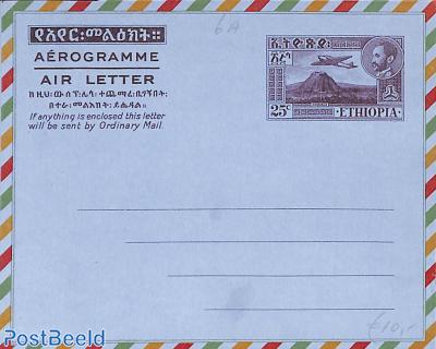 Aerogramme 25c
