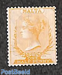 Queen Victoria, WM CC-Crown, perf. 14, 1v