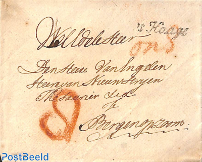 Cover from 's-Gravenhage to Bergen op zoom