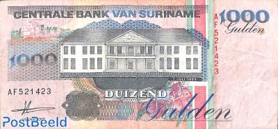 1000 gulden 1.7.1993