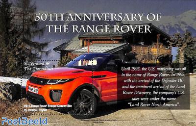 50 years Range Rover s/s