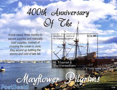The Mayflower Pilgrims s/s