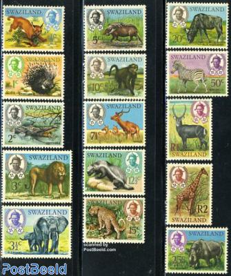 Definitives, animals 15v