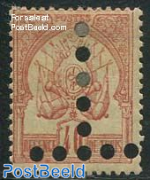 40c postage due, reversed T, unused