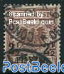 2.5PIA, German Post, Stamp out of set