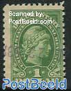1$ Revenue stamp