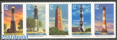 Southeastern lighthouses 5v [::::]