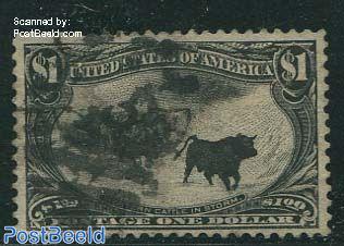 $1 Black, used