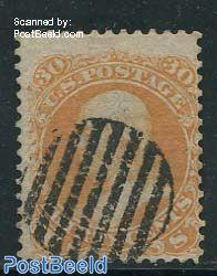 30c, Orange, used
