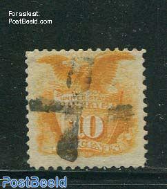 10c Orange, used