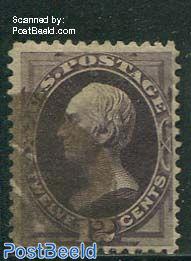 12c Violet, used