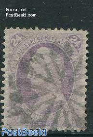 24c Purple, used