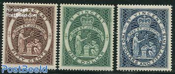 Definitives, Coat of arms 3v