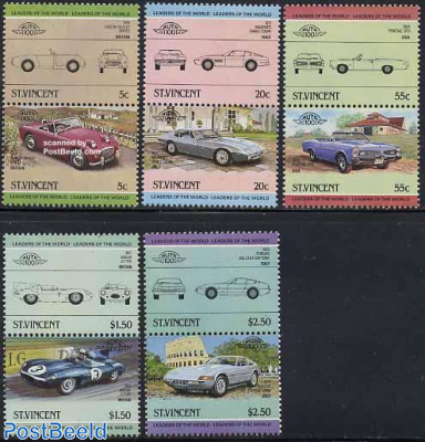 Automobiles 5x2v [:](Maserati,Jaguar,Austin Healey