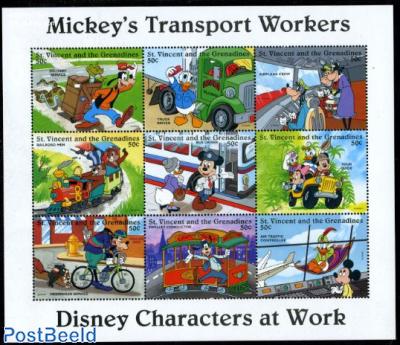 Disney, transport 9v m/s
