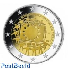 Duitsland 30 Jaar Europese Vlag