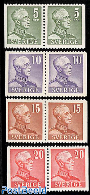 Definitives 4 booklet pairs