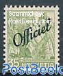 35c Officiel, Stamp out of set