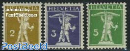 Definitives 3v (Type I, cord before bow)