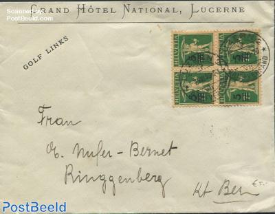 Envelope to Riggenberg