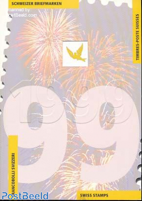 Official Yearbook 1999 with stamps
